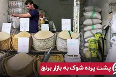 پشت پرده شوک به بازار برنج