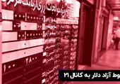 سقوط آزاد دلار به کانال ۲۱