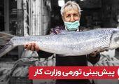 پیشبینی تورمی وزارت کار