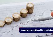 هدفگیری بانک مرکزی برای نرخ سود