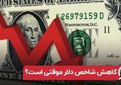 کاهش شاخص دلار موقتی است ؟