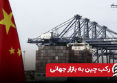 رکب چین به بازار جهانی