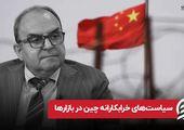 سیاست های خرابکارانه چین در بازارها