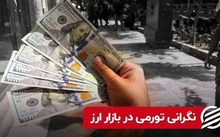 نگرانی تورمی در بازار ارز